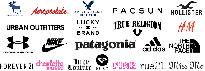 Clothing Brands Teens Brand